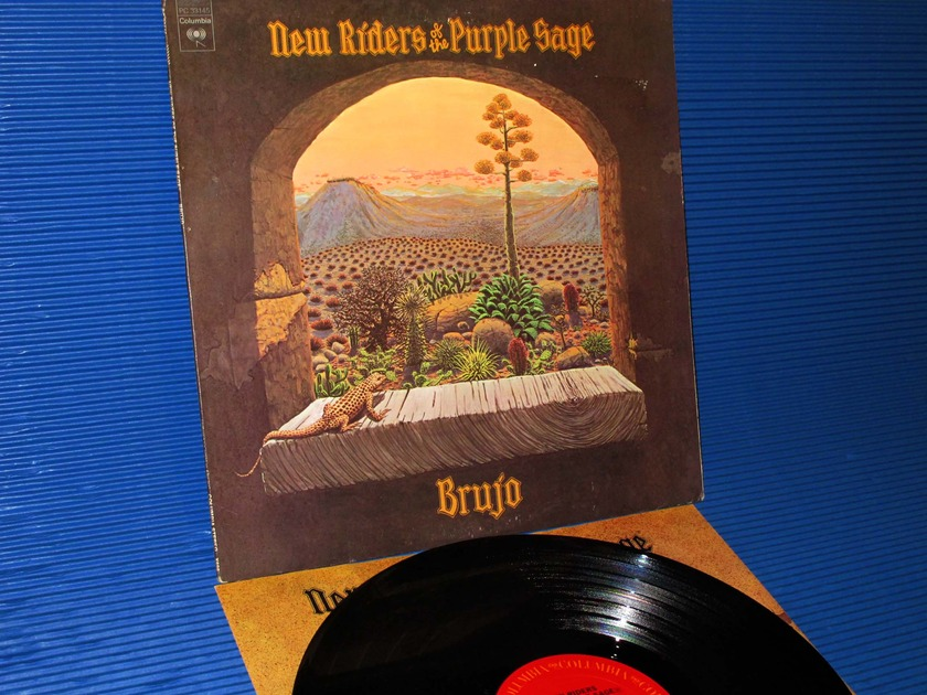 "NEW RIDERS OF THE PURPLE SAGE  - ""Brujo"" - CBS 1974 1st pressing"