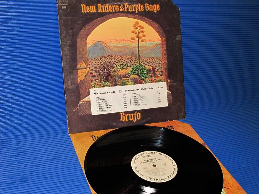 """NEW RIDERS OF THE PURPLE SAGE  - """"Brujo"""" - CBS 1974 WLP w/DJ strip Hot Stamper"""