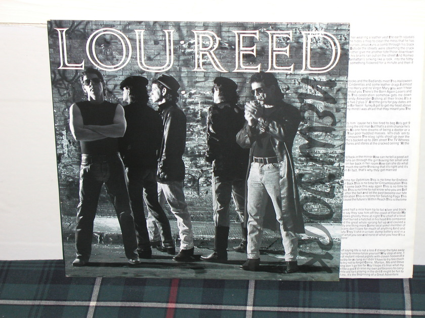 "Lou Reed - ""NEW YORK"" On Sire from 1989"