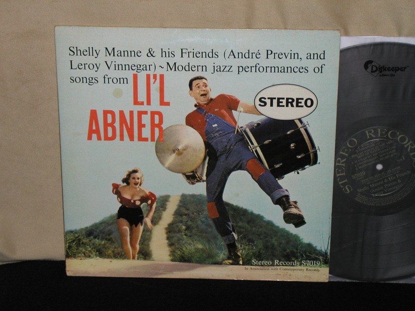 "Shelly Manne & His Friends - ""LI'L ABNER""     STEREO Records Assn.With Contemporary S7019 from 1959."