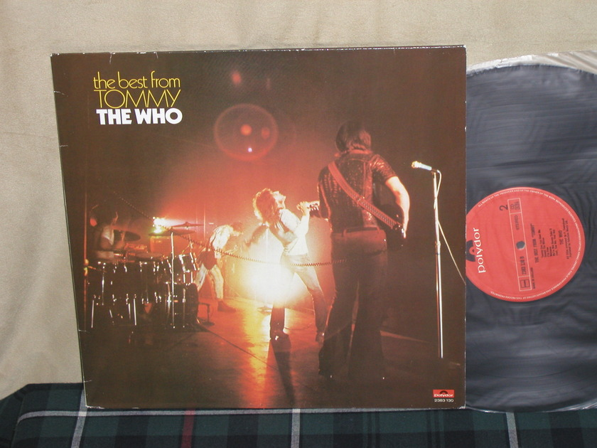 """The Who - """"Best From Tommy"""" UK Import Ploydor 2383 130"""