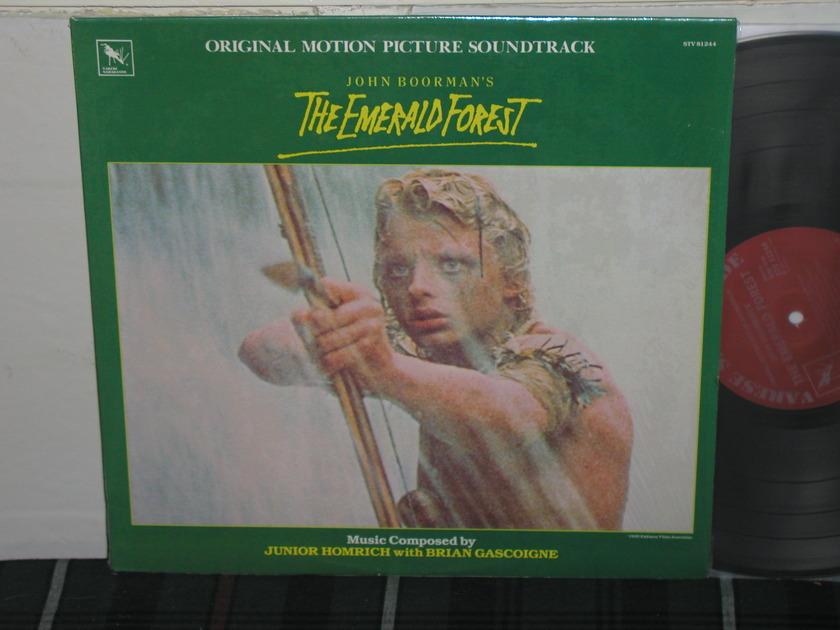 Boorman/Gascoigne - The Emerald Forest (Pics) LP on *TAS* List Varese STV 81244