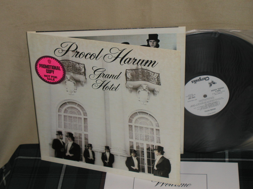 "Procul Harum - ""GRAND HOTEL"" (w/Book) WL Promo from 1973!"