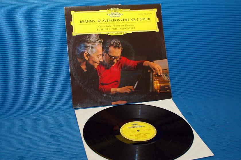 """BRAHMS / Von Karajan  - """"Piano Concerto No.2"""" - DGG 1968"""