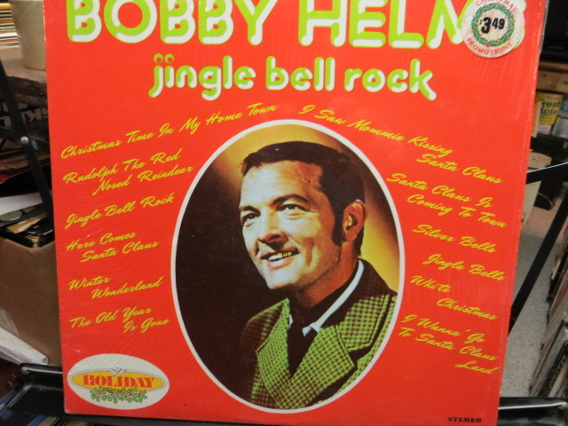 BOBBY HELMS - JINGLE BELL ROCK CHRISTMAS MUSIC