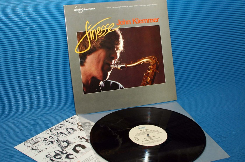 """JOHN KLEMMER  - """"Finesse"""" -  Nautilus Super Discs 1981 D-D"""