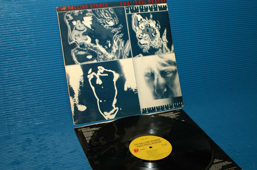 "THE ROLLING STONES   - ""Emotional Rescue"" -  RSR 1980"