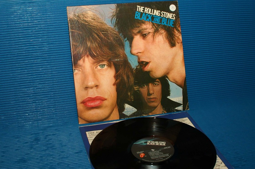 "THE ROLLING STONES   - ""Black and Blue"" -  RSR 1976 Mastered by Sterling"