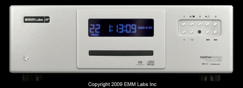 EMM LABS XDS1 SACD Player As good as analog