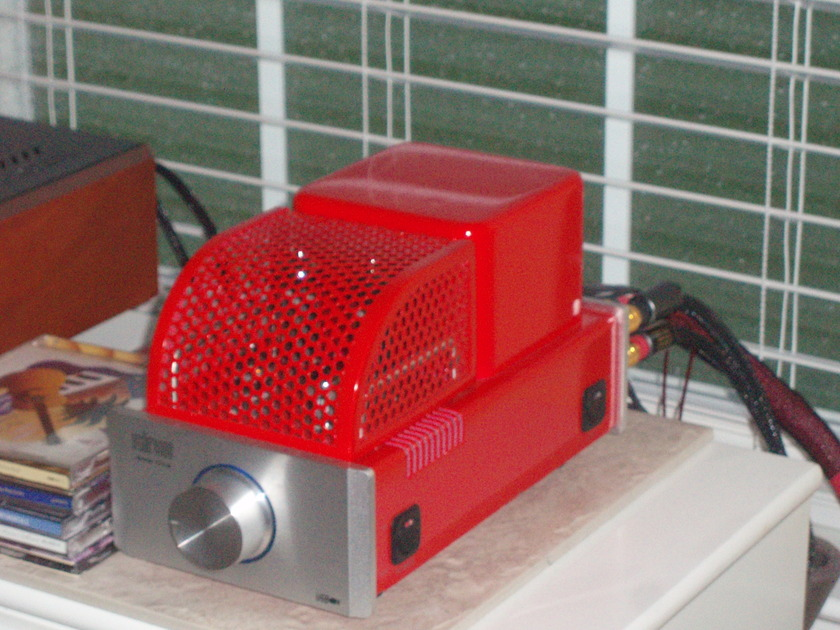 Glow Audio Amp One series two model popular red color extra tubes included.