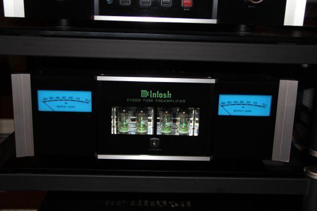 McIntosh C1000 C/T/P Preamp