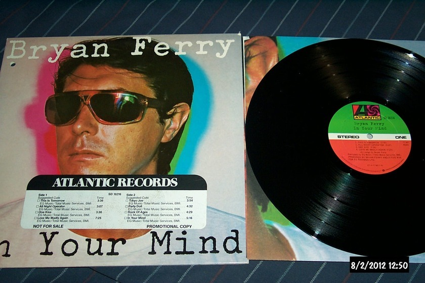 Bryan Ferry(Roxy Music) - In Your Mind LP NM