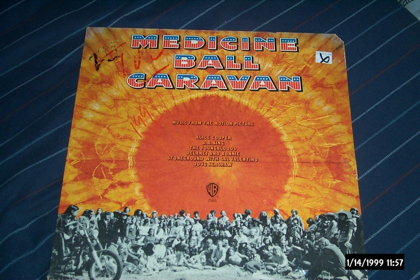 Soundtrack - Sealed LP Medicine Ball Caravan Alice Cooper BB King