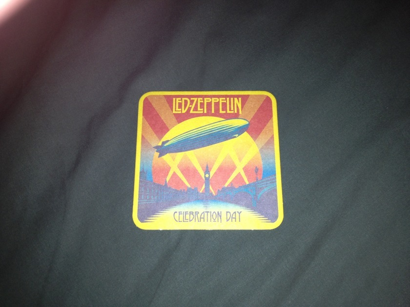 Led Zeppelin - Celebration Day Promo Drink Coaster