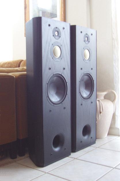 infinity kappa speakers. infinitykappa 7.1 speakers infinity kappa gorgeous in black ash infinity