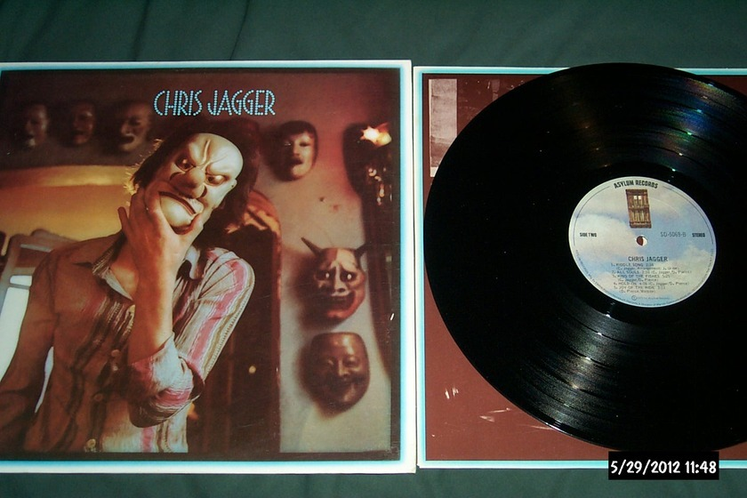 Chris Jagger - S/T LP NM With Mick Jagger Asylum Label