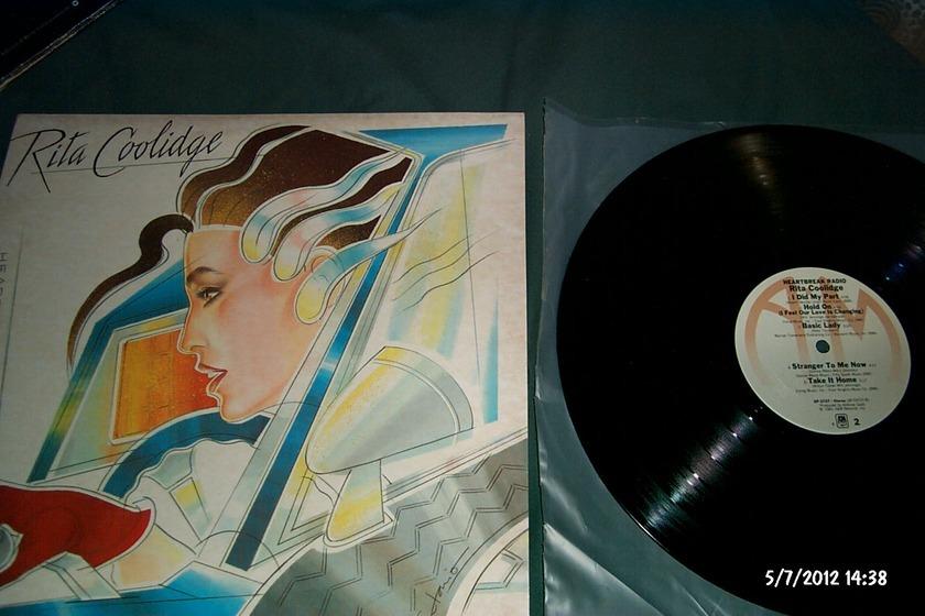 Rita Coolidge - Heartbreak Radio LP NM A & M Label