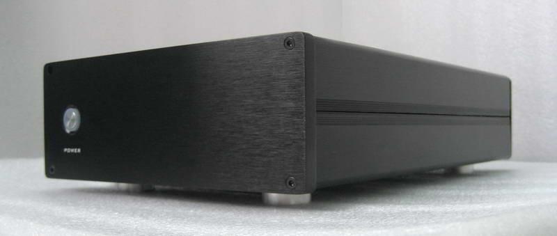 Ghent A100 Case-Kit (DIY ICEpower 125ASX2 & 250ASX2 Amp)