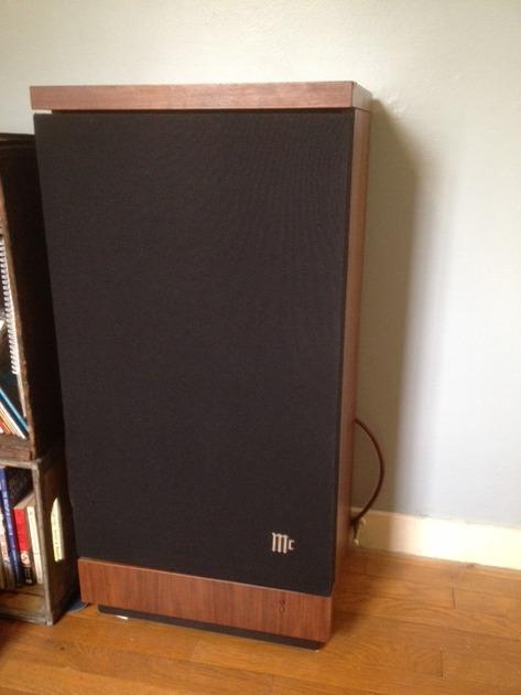 McIntosh XR6 Speakers