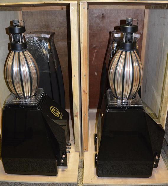 MBL 101E omnidirectional loudspeakers