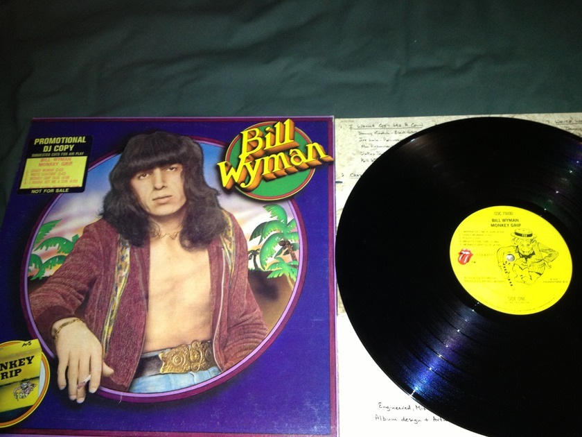 Bill Wyman - Monkey Grip LP  NM Promo