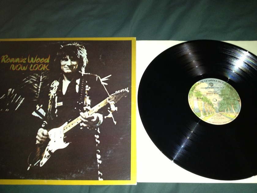 Ronnie Wood - Now Look Promo LP NM Warner Label