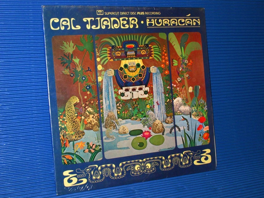 "CAL TJADER  - ""Hurracan"" - Crystal Clear Records 1978 Direct-to-Disk SEALED"