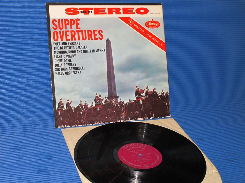 "SUPPE / Barbirolli  - ""Suppe Overtures"" -  Mercury Living Presence 1958 very early pressing"