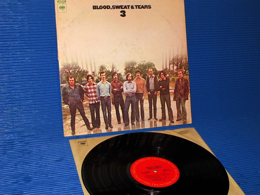 "BLOOD, SWEAT & TEARS  - ""3"" -  Columbia 1970 1st Pressing"