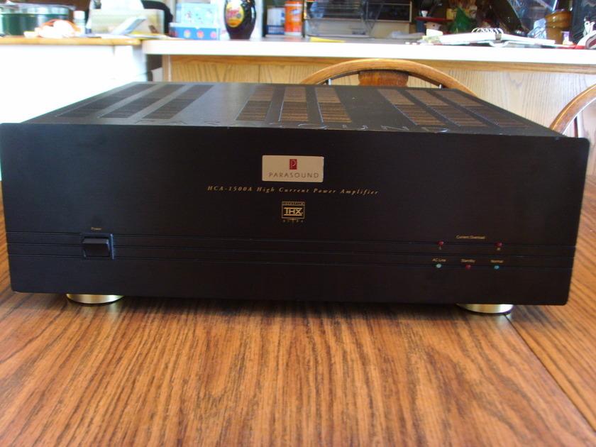 Parasound HCA-1500A 2-Channel Power Amplifier