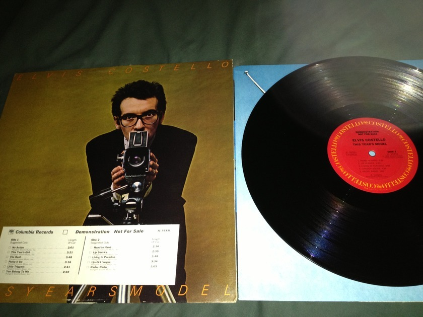 Elvis Costello - This Year's Model Promo LP NM With Costello LP Labels