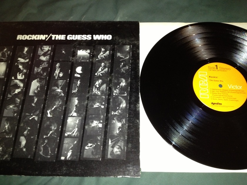 Guess Who - Rockin' LP NM RCA Orange Label