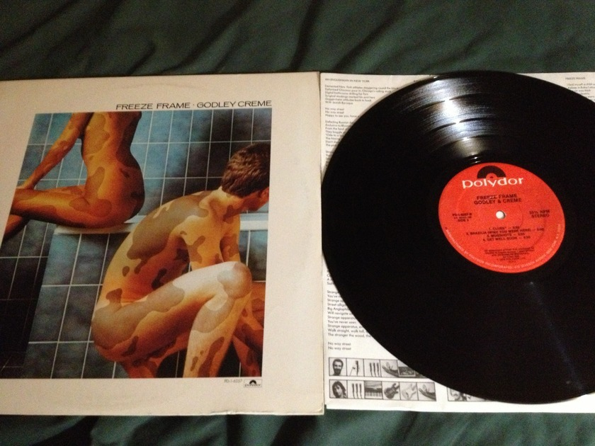 Godley Creme(10CC) - Freeze Frame LP NM