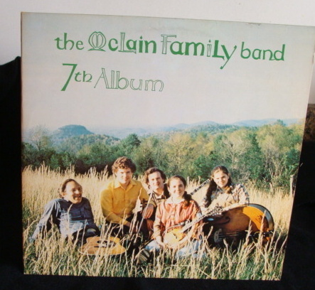 The Mclain Family Band - 7th Album Lp Bluegrass Music Near Mint
