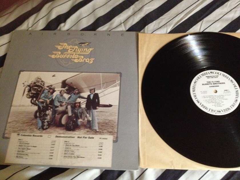 Flying Burrito Bros. -  Airborne White Label Promo  LP NM