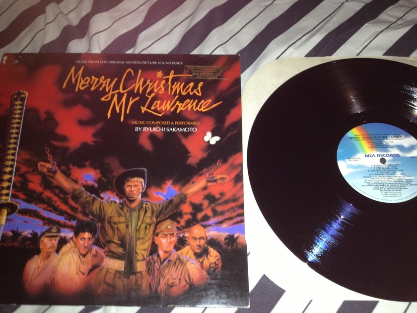 Soundtrack - Merry Christmas Mr. Lawrence LP NM