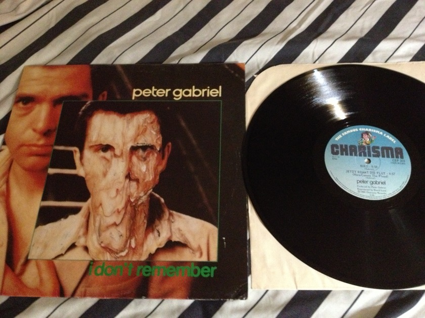Peter Gabriel - Charisma Canada12 Inch I Don't Remember NM