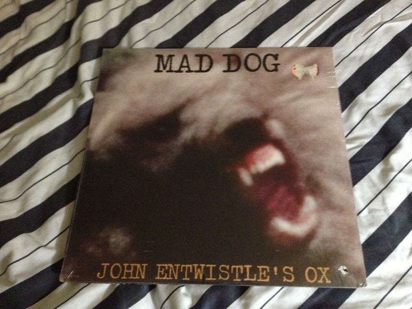 John Entwistle(The Who) - Mad Dog Track Label Sealed LP