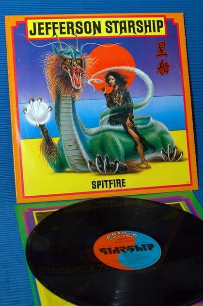 "JEFFERSON STARSHIP   - ""Spitfire"" -  Grunt 1976"