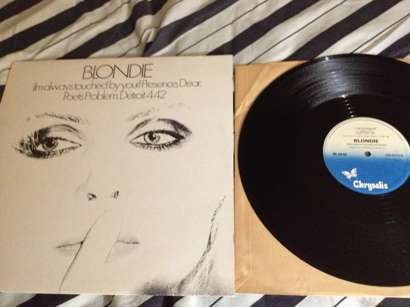 Blondie - 12 France Presence dear/poet problem/detroit 442