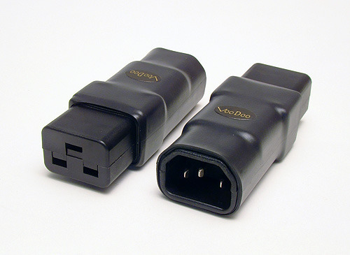 VooDoo Cable IEC Adapters - 15 Amp or 20 Amp - Cryo ...
