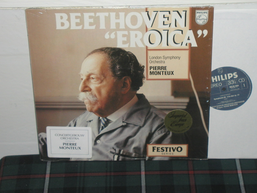 Monteux/COA - Beethoven Eroica Philips Import pressing 6570 204. Still in shrink