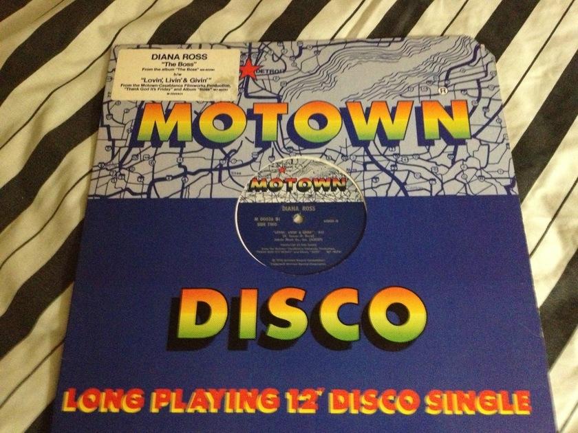 Diana Ross - The Boss Motown 12 Inch Single NM