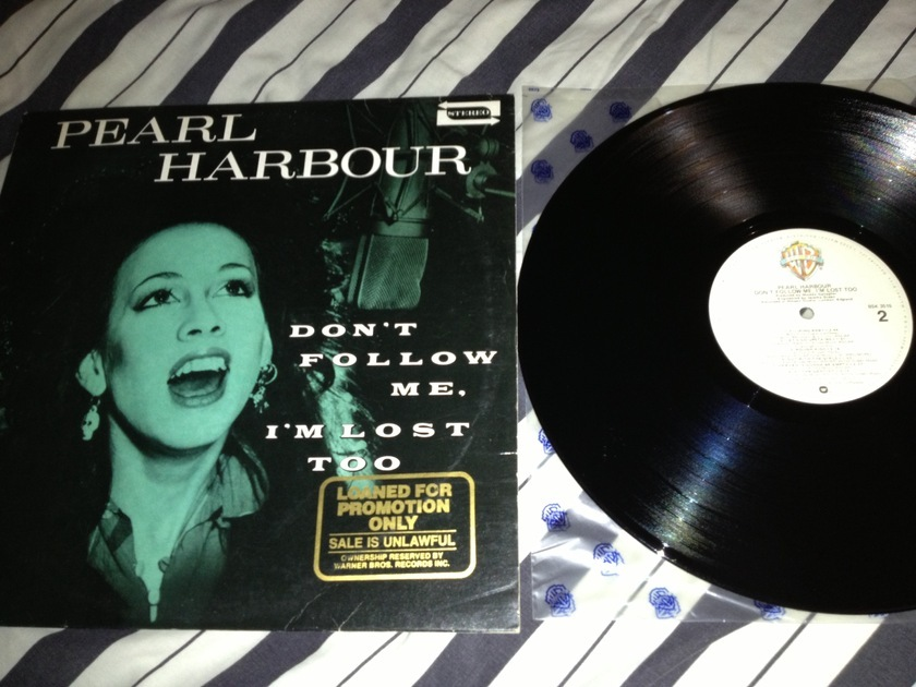 Pearl Harbour - Don't Follow Me I'm Lost Too LP NM Warner Label