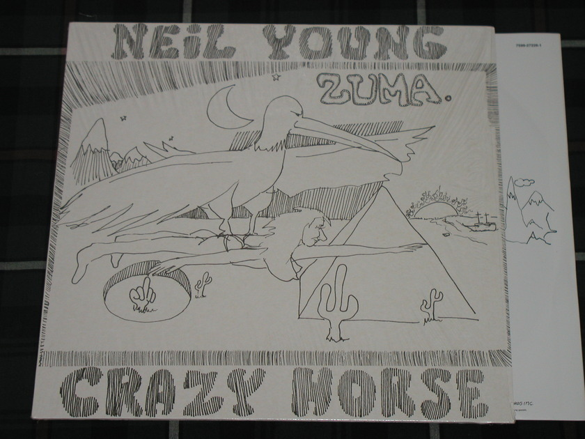 Neil Young/Crazy Horse  - ZUMA German Import  Brand NEW/Unplayed on Reprise 7599-27226-1