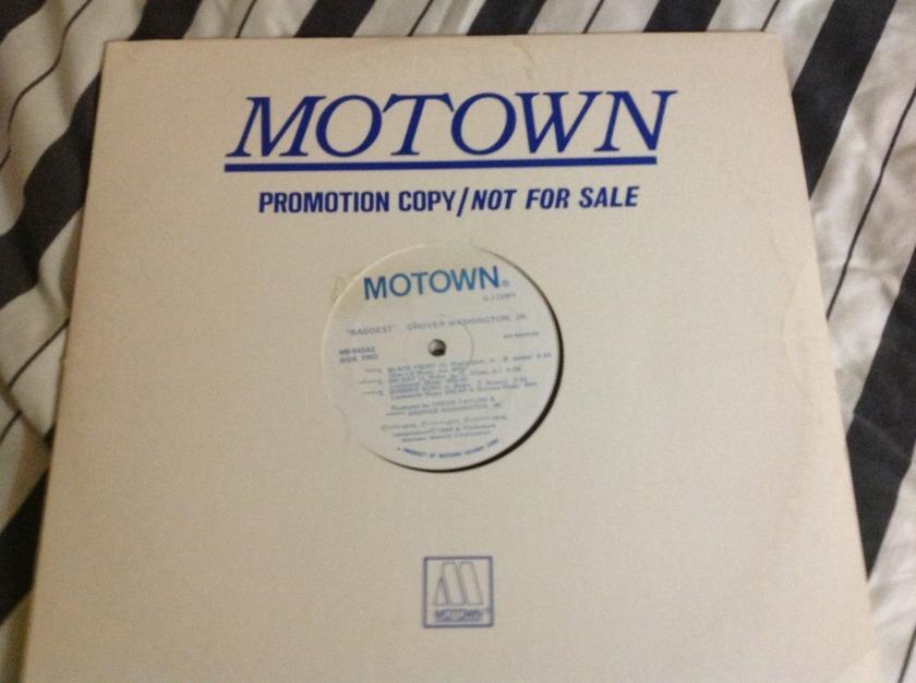 Grover Washington - Baddest 2LP White Label Promo Motown Label