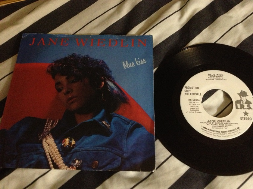 Jane Wiedlin(Go-Go's) - Blue Kiss Promo 45 With Sleeve