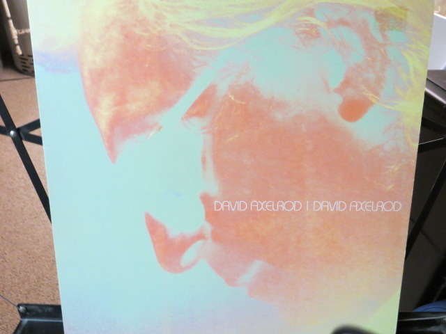 DAVID AXELROD - DAVID AVELROD BOOKLET INCLUDED UK PRESSING