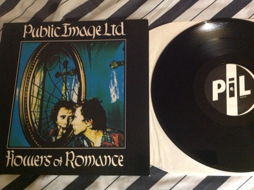 PIL - Flowers Of Romance(Extended Version) 12 Inch UK Virgin Label NM