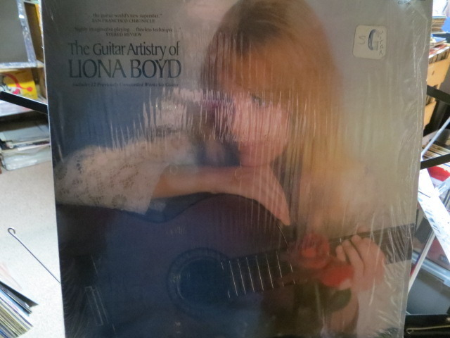 LIONA BOYD - THE GUITAR ARTISTRY OF LIONA BOYD LONDON RECORDS